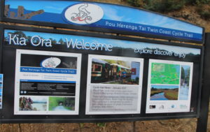 Opua Cycle Trail Notice